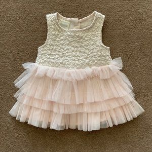 First Impressions 0-3 Months Baby Girl Dress